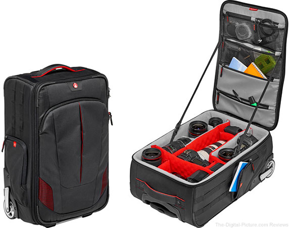 Manfrotto Pro Light Reloader-55 Camera Roller Bag
