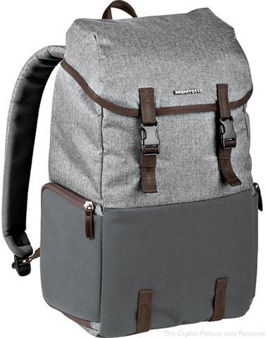 Manfrotto Windsor Explorer Camera and Laptop Backpack for DSLR (Gray)