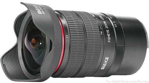 Meike MK-6-11mm f/3.5 Fisheye Lens