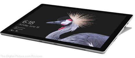 "Microsoft Surface Pro 12.3"" 256GB Multi-Touch Tablet (2017, Silver) - $1,099.00 Shipped (Reg. $1,299.00)"