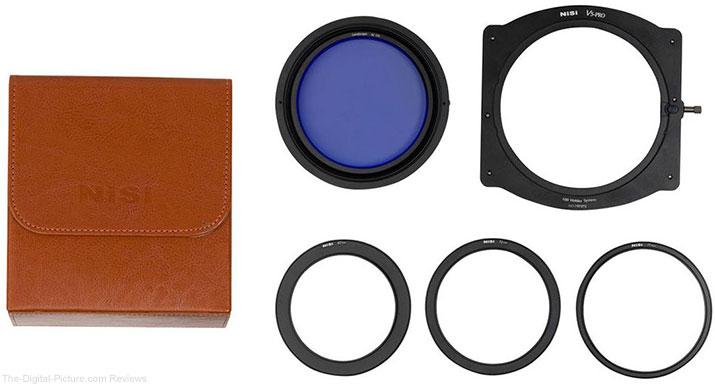 NiSi V5 Pro 100mm Filter Holder Kit with 86mm Enhanced Circular Landscape Polarizer Filter