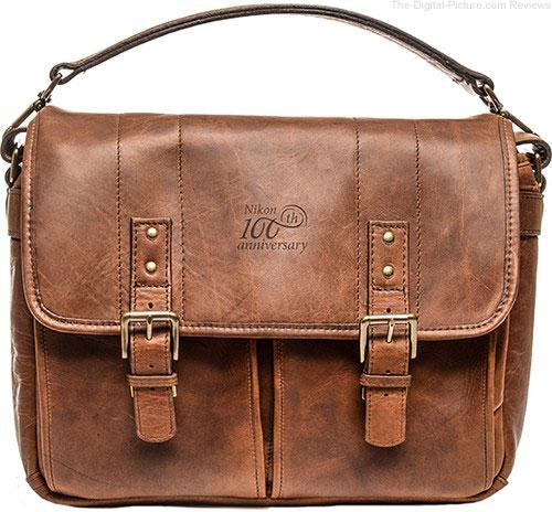Nikon 100th Anniversary Premium Leather Bag