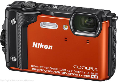 Nikon Announces Durable COOLPIX W300 with 4K Recording