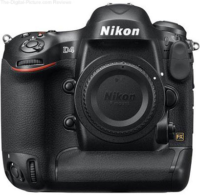 Nikon Releases D4 Firmware Update A:1.10 / B:1.10