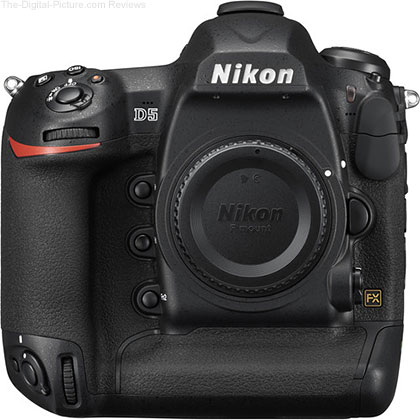 Used Nikon D5 DSLR Camera (Body Only, Dual XQD Slots, Condition: 9) - $5,699.50 Shipped (Compare at $6,496.95 New)