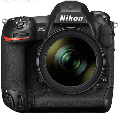 NASA Orders 53 Unmodified Nikon D5 DSLR Cameras