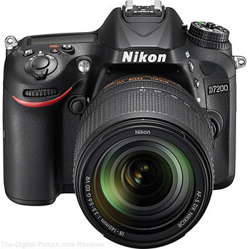 Nikon D7200 DSLR Camera with 18-140mm VR Lens