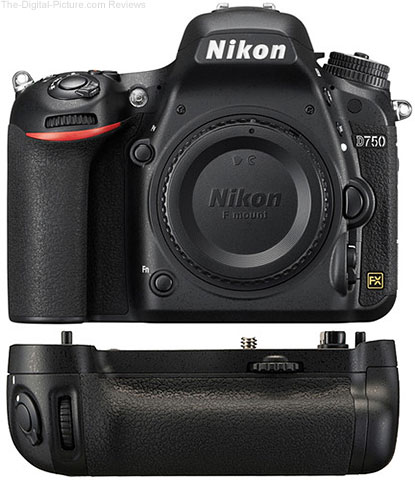 Buy a Nikon D750 at $600.00 Off, Get a Free Battery Pack & More