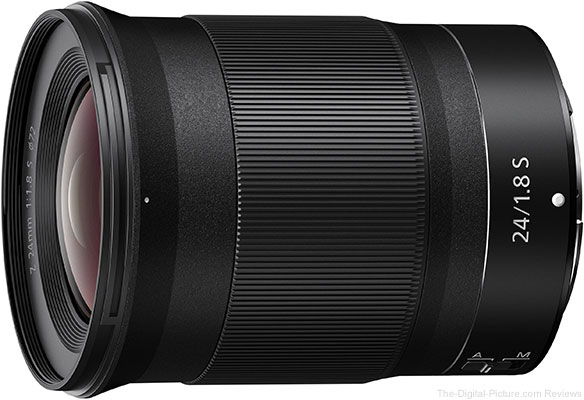 Nikon Introduces the NIKKOR Z 24mm F/1.8 S