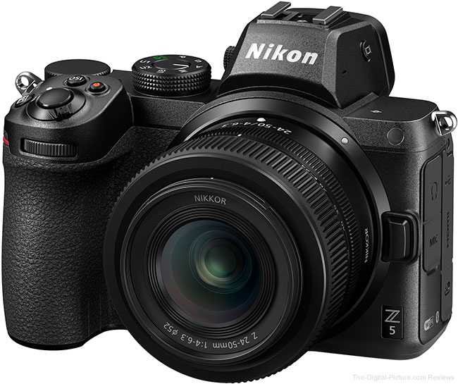 Just Announced: Nikon Z 5, Z 24-50mm Lens, Z 1.4x, Z 2x, Webcam Utility Software