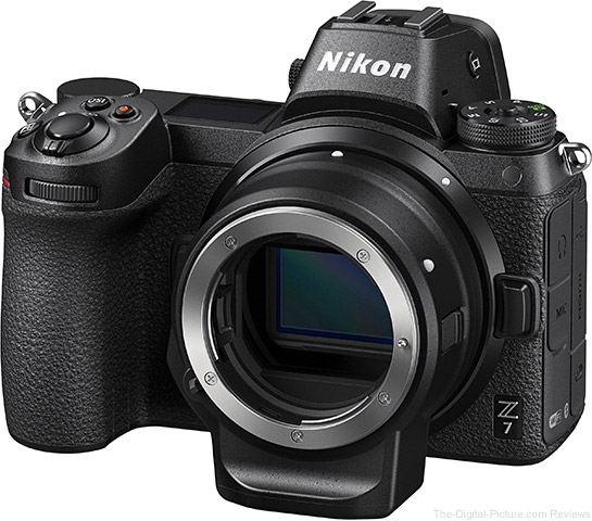 Nikon Z 7 / Z 6 Now Come with a Free FTZ Mount Adapter