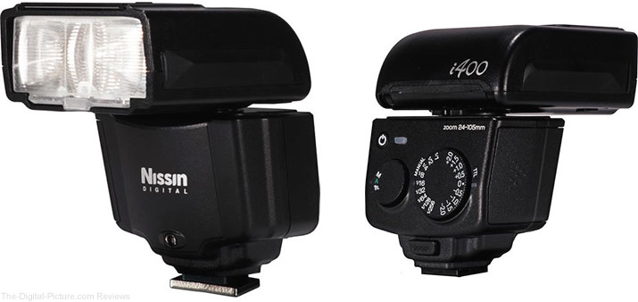 Nissin Introduces the Pocket-sized i400 Flash