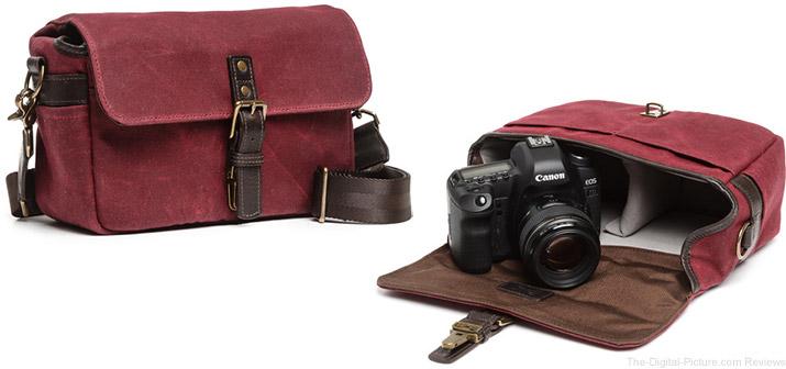 ONA Bowery Camera Bag (Canvas, Crimson)