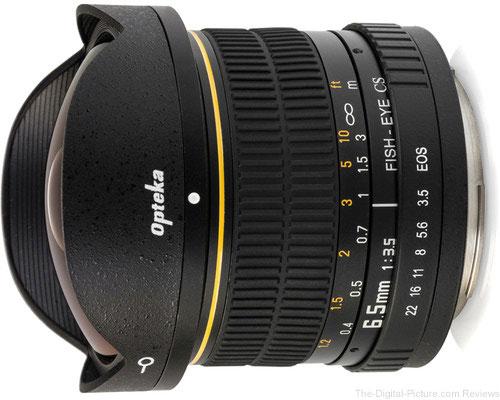 Opteka 6.5mm f/3.5 Circular Fisheye Lens