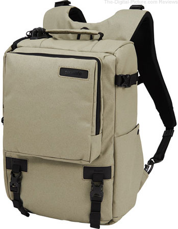 "Pacsafe Camsafe Z16 Anti-Theft Camera and 13"" Laptop Backpack (Slate Green) - $69.95 Shipped (Reg. $199.95)"
