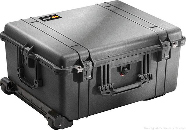 Pelican 1610 Case with Foam Set (Black) - $169.95 Shipped (Reg. $229.95)