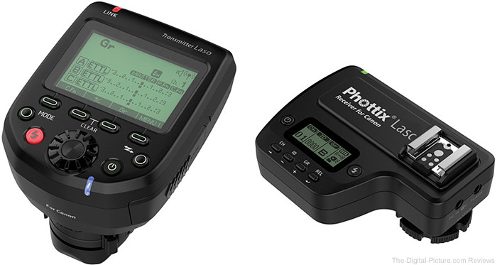 Phottix Laso TTL Flash Trigger Transmitter & Receiver In Stock at B&H