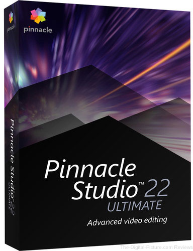Pinnacle Studio 22 Ultimate (Box)