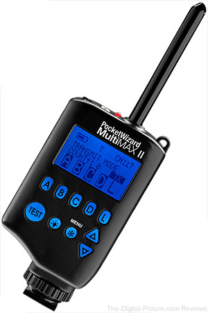 PocketWizard MultiMAX II Transceiver In Stock at B&H