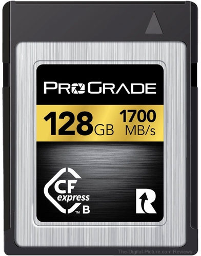 ProGrade Digital 128GB CFexpress 2.0 Gold Memory Card