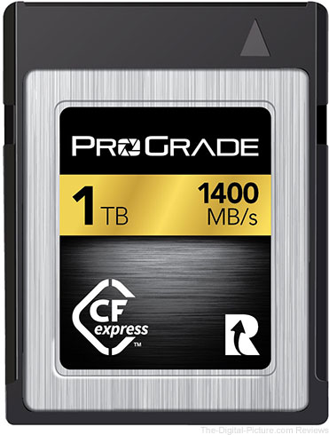ProGrade Digital Demonstrates CFexpress 1.0 Memory Cards at CES
