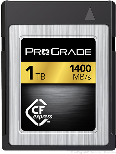 ProGrade Digital is First to Publicly Demonstrate CFexpress 1.0 Technology in 1TB Capacity