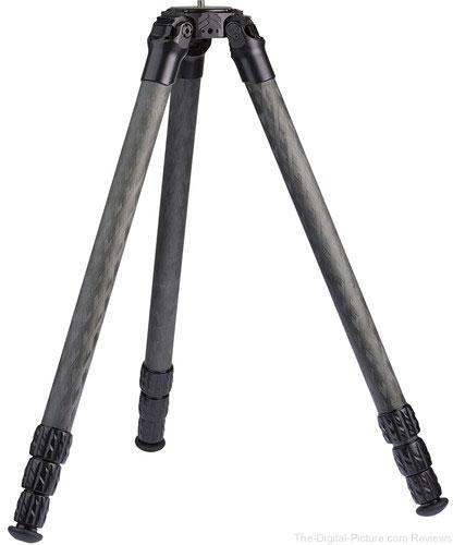 """ProMediaGear TR344L 34mm Series 71"""" Pro-Stix Carbon-Fiber Tripod"""