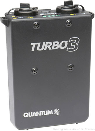 Quantum Instruments Turbo 3 Rechargeable Battery - $349.00 Shipped (Reg. $624.00)