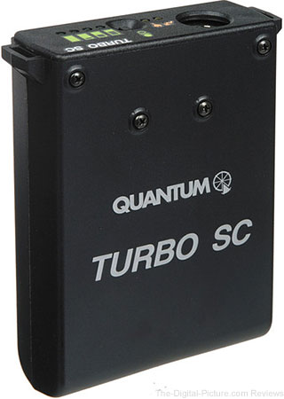 Quantum Instruments Turbo SC Battery Pack for Portable Flashes (US / Canada / Japan Plug) - $229.00 Shipped (Reg. $351.00)
