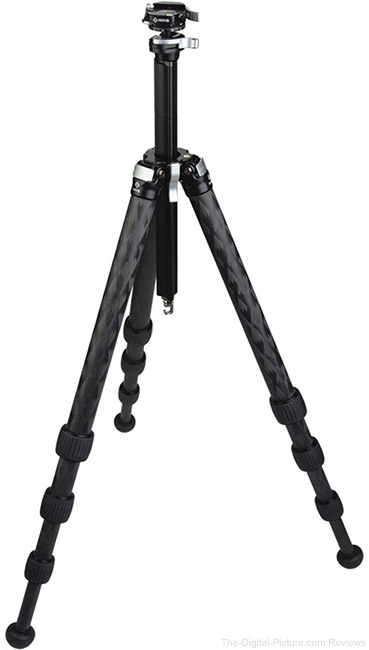 Really Right Stuff Ascend-14 Long Travel Carbon Fiber Tripod with Integrated Ball Head