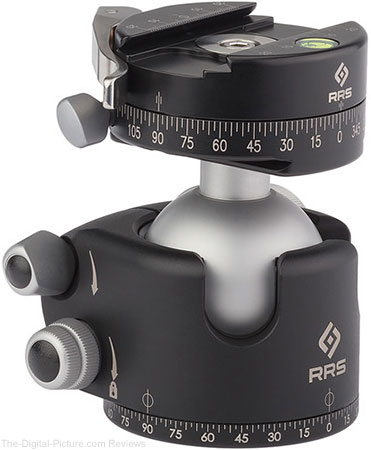 Used at B&H: Really Right Stuff BH-55 Ball Head with Lever-Release Panning Clamp – $543.95 ($640.00 New)