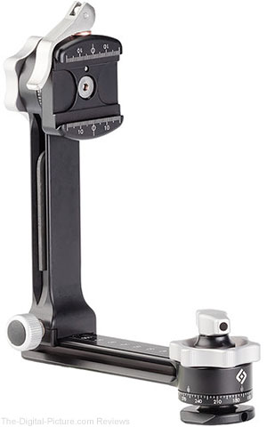 Used Really Right Stuff PG-01 Compact Pano-Gimbal Head with Lever-Release Clamp and Leveling Base (8 ) - $239.95 Shipped (Compare at $335.00 New)