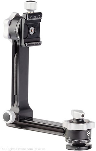 Really Right Stuff PG-01 Compact Pano-Gimbal Head with Screw-Knob Clamp and Leveling Base