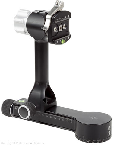 Really Right Stuff PG-02 LR Pano-Gimbal Head with B2-LR II Lever-Release Clamp