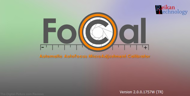Reikan FoCal v2 Splash Screen
