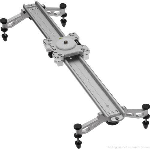 """Revo Camera Track Slider V2 with Adjustable Feet (23"""")"""