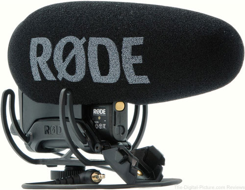 Rode VideoMic Pro Plus On-Camera Shotgun Microphone Available for Preorder at B&H