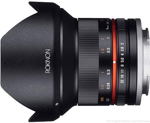 Rokinon 12mm f/2.0 NCS CS Lens