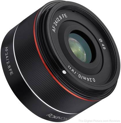 Rokinon 24mm F2.8 Full Frame Auto Focus Lens for Sony E