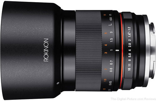 Rokinon 35mm f/1.2 ED AS UMC CS Lens for Canon EF-M