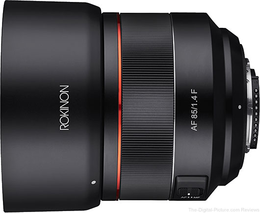 Rokinon Announces AF 85mm F1.4 for Nikon