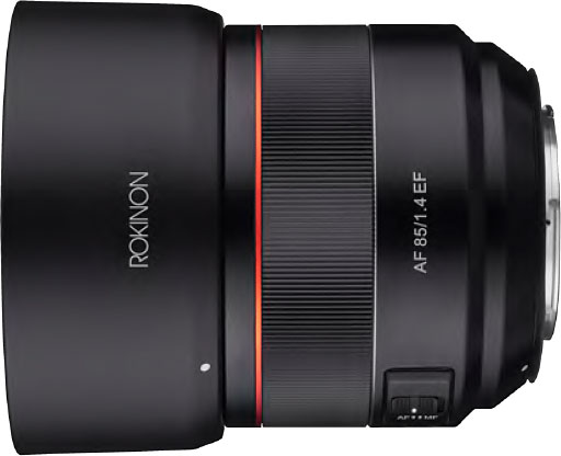 Rokinon AF 85mm f/1.4 Full Frame Lens