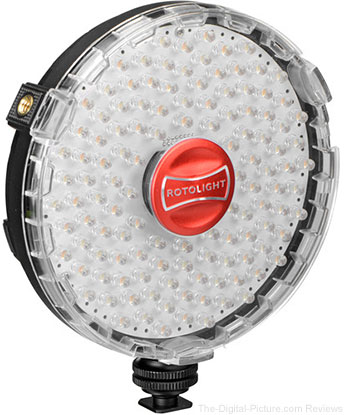 Rotolight NEO On-Camera LED Light - $199.95 with Free Shipping (Reg. $399.95)