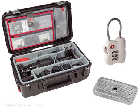 SKB 20ll-7 Case with Divider Set, Lid Organizer, TSA Lock, Desiccant Gel