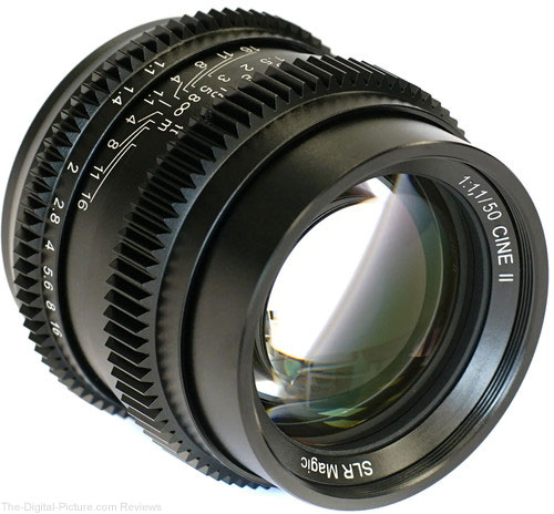SLR Magic Cine II 50mm f/1.1 Lens (Sony E-Mount) - $269.00 Shipped (Reg. $329.00)