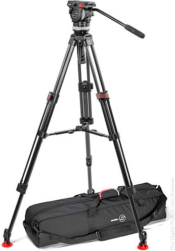 Sachtler Ace XL System with SpeedLock Tripod & Mid-Level Spreader (75mm Bowl)