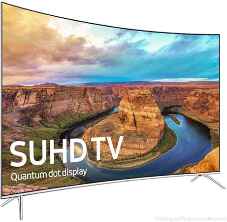 """KS8500-Series 55""""-Class SUHD Smart Curved LED TV - $899.00 Shipped (Reg. $1,999.00)"""