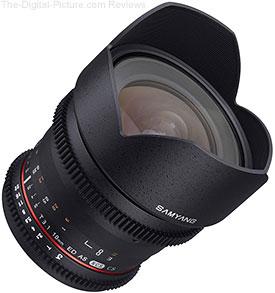 Samyang 10mm T3.1 Cine Lens