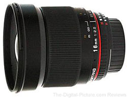 Samyang 16mm f/2 ED AS UMC Lens