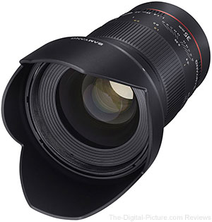 Samyang Announces New 35mm f/1.4 AE and Cine Lenses